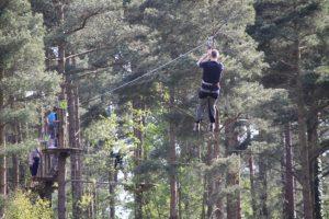Go Ape @ Haldon Forest